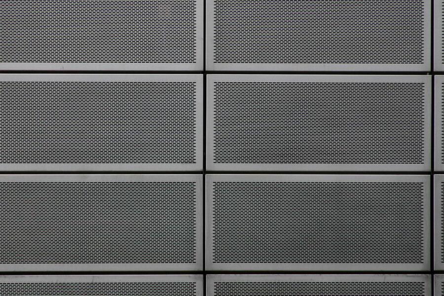 花纹铝板 铝板同样也可以加工为穿孔(雕花)板,凸凹花纹金属板,用于