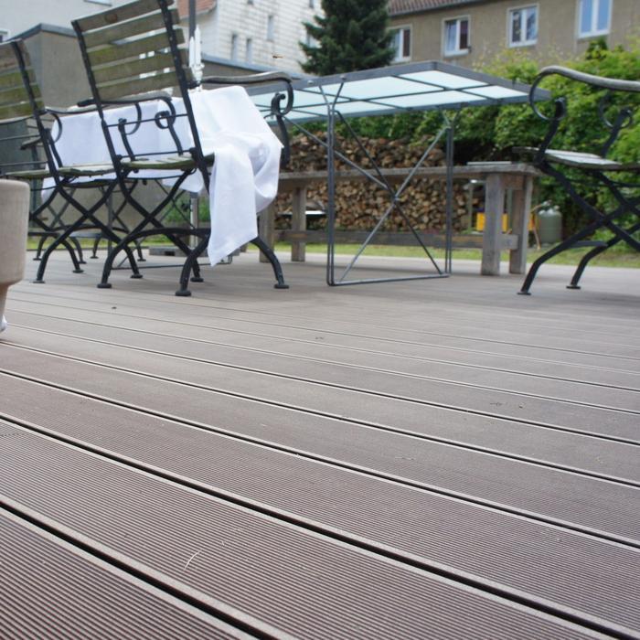 富克-户外塑木拼接地板