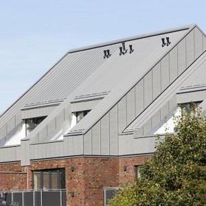 直立双锁边钛锌板屋面系统