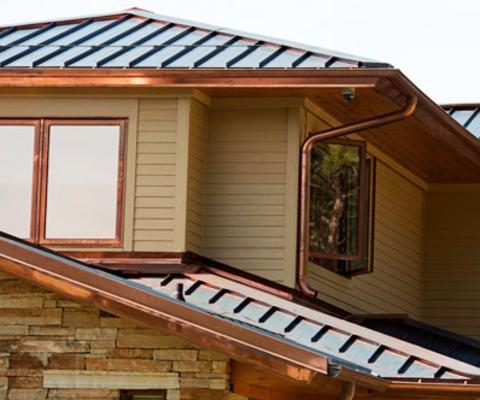 铜落水系统铜屋面系统天沟檐沟排水沟