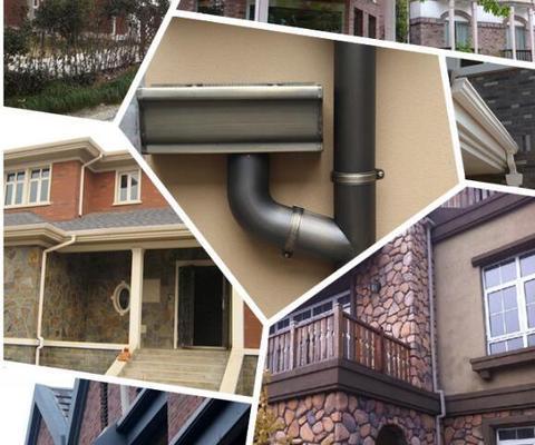 彩铝金属落水系统