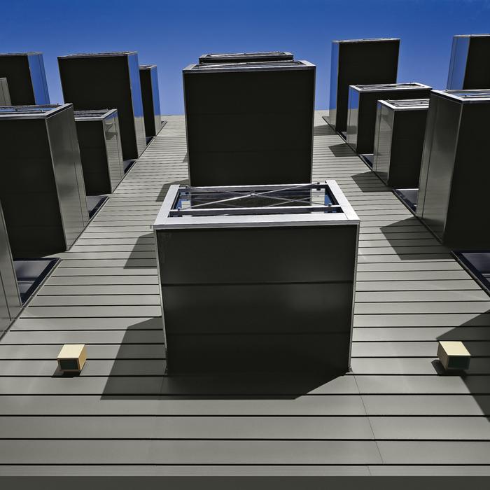 RHEINZINK搭叠板幕墙系统