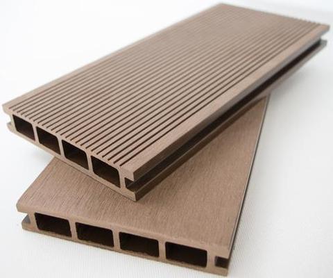 塑木地板WPC木塑空心地板146x22复合环保生态户外板厂家直销