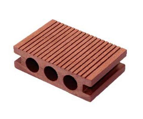 塑木地板户外地板WPC木塑三圆孔环保材料生态板100x30厂家批发直销