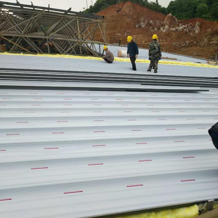 YX65-430铝镁锰金属屋面板