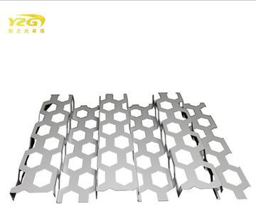 铝单板幕墙冲孔长城板 氟碳铝单板