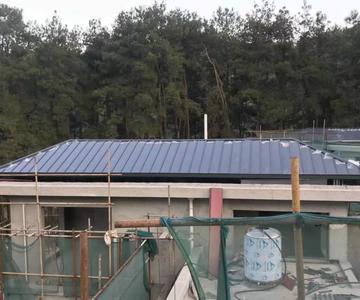 直立双锁边铝镁锰屋面系统YX25-430