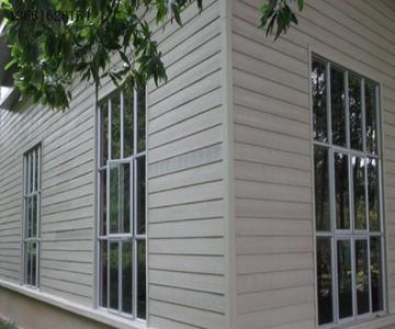 木纹水泥板外墙挂板 别墅外墙木纹挂板 木纹水泥板