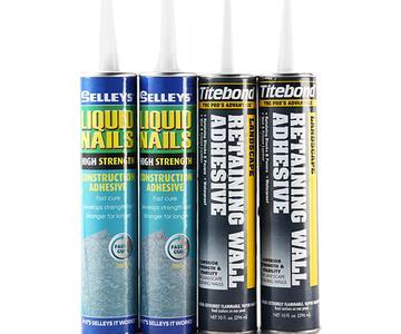 建筑免钉胶进口水泥板专用胶水美岩板胶水木丝水泥板专用粘合剂