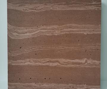 幕墙干挂无机水泥石 水泥纹石洞石