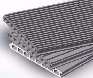ECP板 中空挤出成型水泥条板  高强纤维水泥中空挤出成型墙板