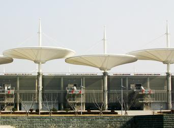 上海F1国际赛车场看台
